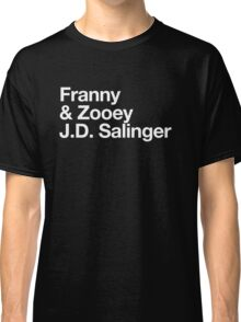 Mike Mills' Franny and Zooey J.D. Salinger Shirt Classic T-Shirt