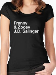 Mike Mills' Franny and Zooey J.D. Salinger Shirt Women's Fitted Scoop T-Shirt