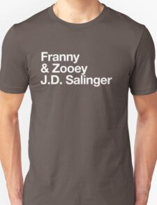 Mike Mills' Franny and Zooey J.D. Salinger Shirt Unisex T-Shirt