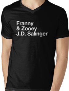 Mike Mills' Franny and Zooey J.D. Salinger Shirt Mens V-Neck T-Shirt