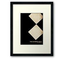 The Seventh Seal Film Poster Framed Print
