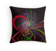 Looped Pipes Throw Pillow