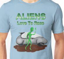 Aliens Love to Race Unisex T-Shirt