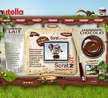 NUTELLA HOME PAGE by ANOZER