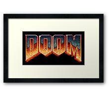 Doom! Framed Print