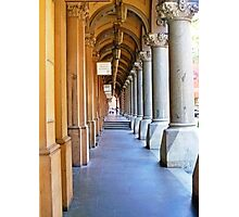 Colonial Colonnade Photographic Print