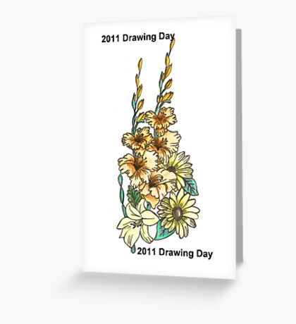 2011 Drawing Day Greeting Card
