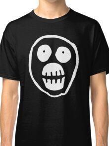 The Mighty Boosh – Big Mask (White) Classic T-Shirt