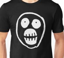 The Mighty Boosh – Big Mask (White) Unisex T-Shirt