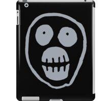 The Mighty Boosh – Big Mask (Grey) iPad Case/Skin