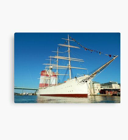 Barken Viking Canvas Print