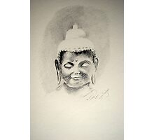 A Buddha for Drawing day  Photographic Print