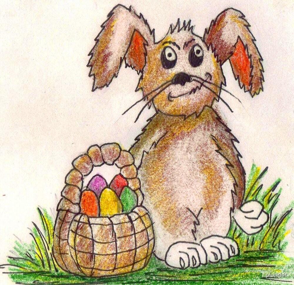 Rabbit Illustration by plunder