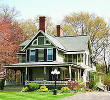 Great Great Grandpa's House ~ Lewiston, NY by artwhiz47