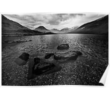 Wastwater 04 - Classic View of Wasdale, Cumbria Poster
