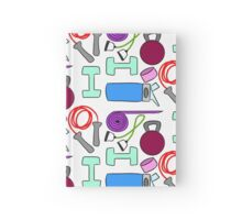 Get Fit Hardcover Journal