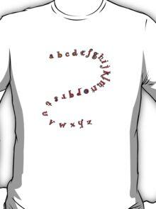 Alphabet Shirt  T-Shirt