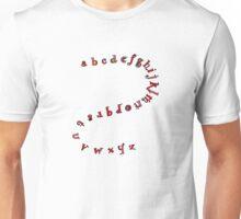 Alphabet Shirt  Unisex T-Shirt
