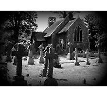Churchyard Photographic Print