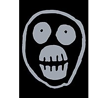 The Mighty Boosh – Big Mask (Grey) Photographic Print