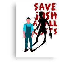 SAVE JOSH WASHINGTON! Canvas Print