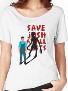 SAVE JOSH WASHINGTON! Women's Relaxed Fit T-Shirt
