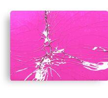 Shocking Pink Canvas Print