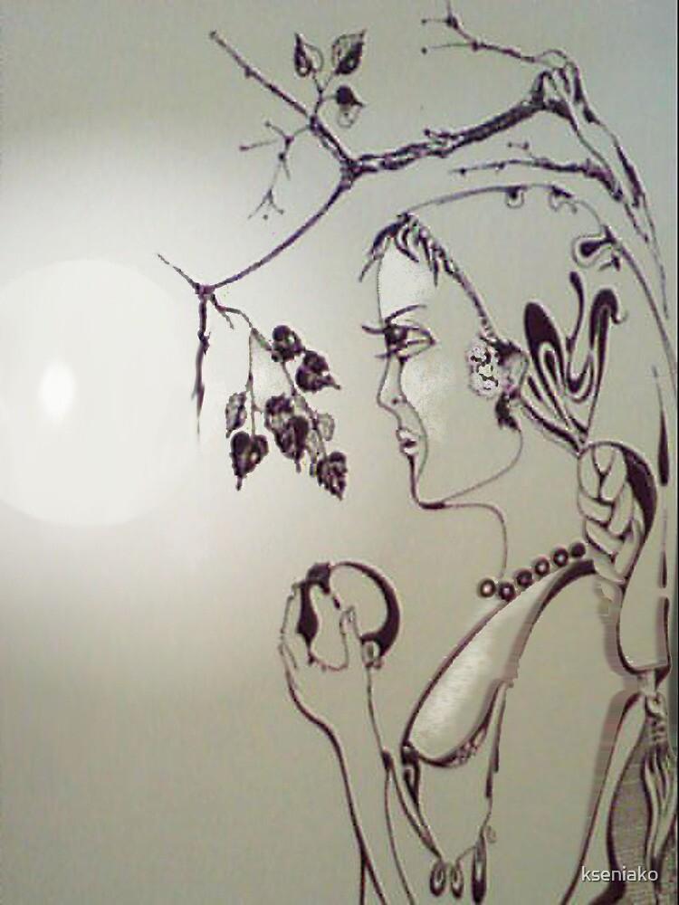 At grape-harvest time 2 by kseniako
