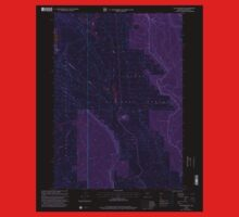 USGS Topo Map Oregon Location Butte 280559 1999 24000 Inverted Baby Tee