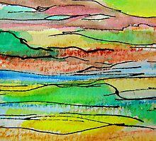 Hinterland Sunset 1 by Kathie Nichols