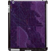 USGS Topo Map Oregon Location Butte 280559 1999 24000 Inverted iPad Case/Skin