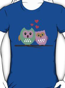 Owl couple T-Shirt