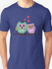 Owl couple Unisex T-Shirt