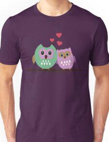 Owl couple Unisex T-Shirt