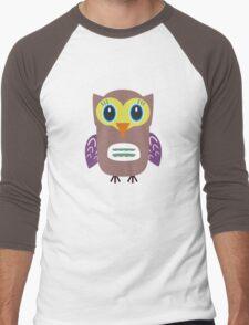 Ugly Owl Men's Baseball ¾ T-Shirt
