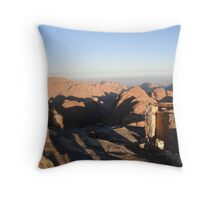 The Highest Toilet in the World Throw Pillow
