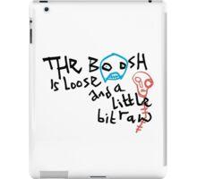 The Mighty Boosh – The Boosh Is Loose iPad Case/Skin