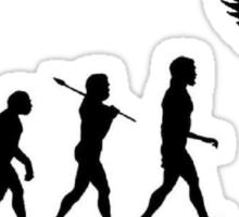 Homo Sapien Superior Sticker