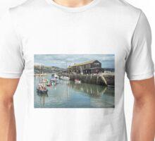 Lyme Regis Harbour - September Unisex T-Shirt