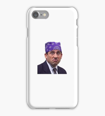 Michael Scott - Prison  iPhone Case/Skin
