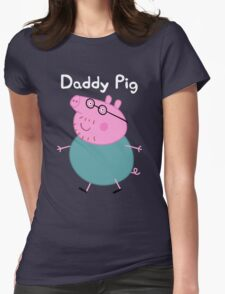 Daddy Pig Womens Fitted T-Shirt