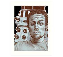 Sneeky Dalek Art Print