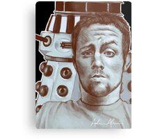 Sneeky Dalek Metal Print