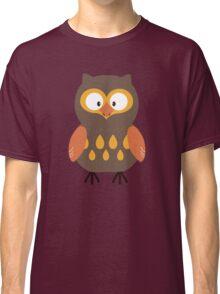 Brown Pumpkin Owl Classic T-Shirt