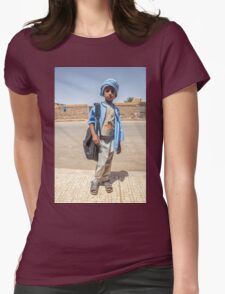 HUMANS OF ALGERIA #32 Womens Fitted T-Shirt