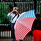 Patriotic Tourists by Robert  Mackert
