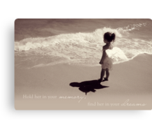 Find Her In Your Dreams Canvas Print