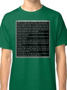 Dwarf Fortress Shirt Artifact GREEN ONLY Classic T-Shirt