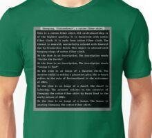 Dwarf Fortress Shirt Artifact GREEN ONLY Unisex T-Shirt