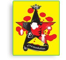 Think Revolution Canvas Print